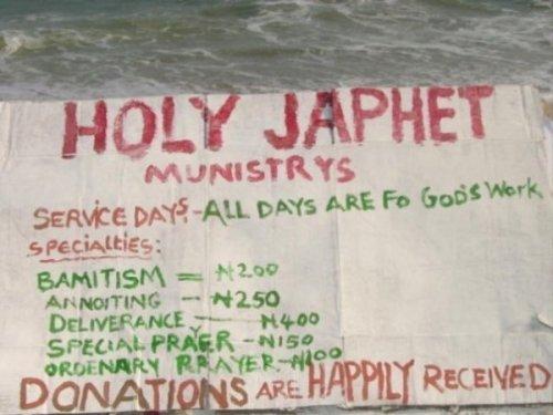 church advert
