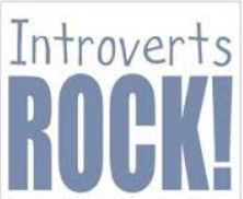 Introverts rock