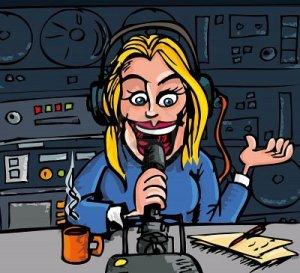 female-radio-presenter